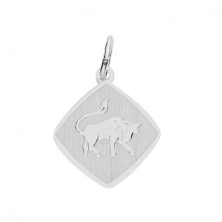 Basic Silber 24.9018SST Damen Anhänger Sternzeichen Stier Silber