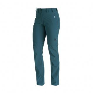 Mammut Damen Outdoor Hose Runje Zip Off Pants Women Blau Wanderhose 36