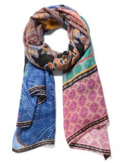 Desigual Damen Schal Stola BRUNELLA Polyester 194cm Rosa 18WAWW07-3146 - Vorschau 2