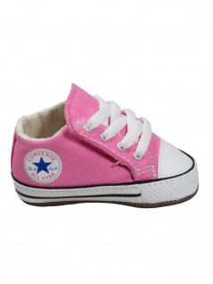 Converse Baby Kinder Schuhe CT All Star Cribster Mid Rosa Leinen 17 EU