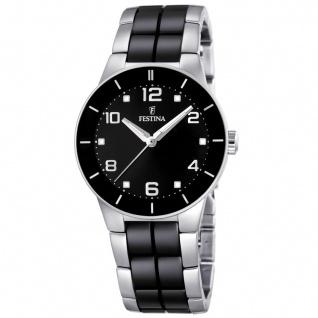 FESTINA F16531/2 KERAMIK Uhr Damenuhr kratzfestes Keramik schwarz