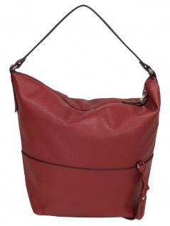 Esprit Damen Handtasche Tasche Henkeltasche Faith hobo Rot
