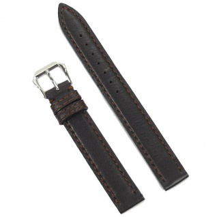Condor Uhrenband 15220-14-20 Ersatzarmband 14 mm Kalbnappa braun