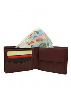 Fossil Herren Geldbörse PAUL Bifold Leder Rot ML3894-603 - Vorschau 3