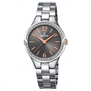 Festina F16932/1 Uhr Damenuhr Edelstahl Silber