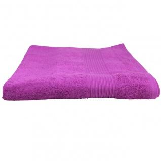 Badetuch Julie Pink Frottee Baumwolle 500g/m2 Handtuch 100 x 150 cm