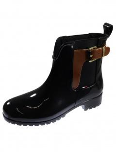 Tommy Hilfiger Damen Schuhe O1285XLEY Schwarz Stiefel