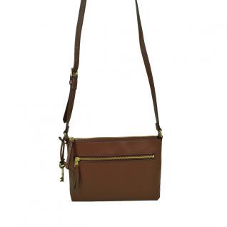 Fossil Fiona Small Crossbody Braun Damen Handtasche Schulter Tasche