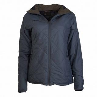 Mammut Winterjacke Jacke Damen Pischa IS Hooded Jacket Blau-Grau Gr. L