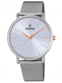 Festina F20475/3 Uhr Damenuhr Edelstahl silber