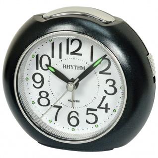 RHYTHM CRE872NR02 Wecker Uhr Alarm Weiss