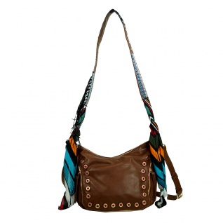 Desigual Bols Somalia Janis Braun 17WAXPNX-6091 Handtasche Tasche