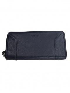 Esprit Damen Geldbörse Portemonnaies Mia Zip Blau 039EA1V003-400