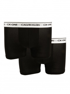Calvin Klein Herren Boxershort 2er Pack Trunk XS Schwarz NB2385A