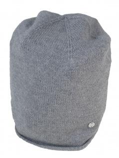 Esprit Damen Hüte Mütze Beanie Cotton Beanie OneSize Grau