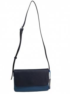 Esprit Damen Handtasche Tasche Schultertasche Farah s shoulderbag Blau