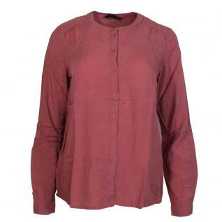 Only Damen Damenbluse Bluse NEW FALLOW Button Shirt Rosa Gr. 42