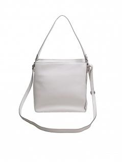 Esprit Damen Handtasche Tasche Henkeltasche Debbie Hobo Weiß
