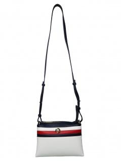 Tommy Hilfiger Damen Handtasche Tasche TH Core Crossover Weiß