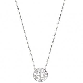 XENOX XS2896 Damen Collier Lebensbaum Symbolic Power Silber 45 cm