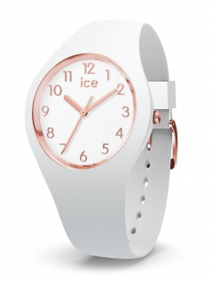 Ice-Watch 015337 ICE glam colour white rose gold numbers s Uhr Weiß