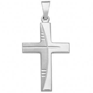 Basic Silber SKE23 Kinderschmuck Anhänger Kinder Kreuz Silber