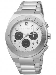 Esprit ES1G157M0055 Strike Chrono Chronograph Herrenuhr Datum silber