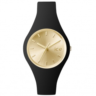 Ice-Watch ICE.CC.BGD.S.S.15 ICE CHIC Black Gold Uhr Damenuhr schwarz