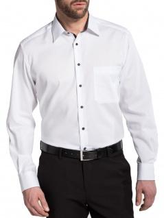 Eterna Herren Hemd Langarm Comfort Fit 8100/01/E14E Weiß XXL/46 - Vorschau 2