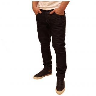 Authentic Style Herren Jeans Hose Fit 5 Pocket Blau Gr. 34W / 30L