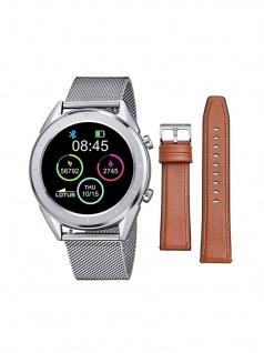 Lotus 50006/1 Smartime Smart Watches Uhr Herrenuhr Datum Silber