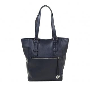 Esprit Ornella M Shopper Blau 017EA1O022-E405 Handtasche Tasche