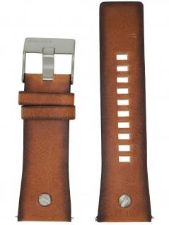Diesel Uhrenarmband LB-DZ7332 Original Ersatzband Leder 28 mm Braun