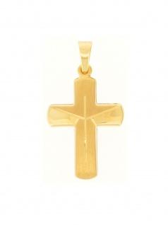Gerry Eder 27.9197 Anhänger Kreuz 14 Karat (585) Gelbgold Gold