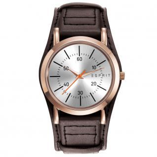 Esprit ES906582002 esprit-tp90658 dark brown Uhr Damenuhr Leder braun
