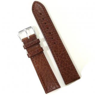 Condor Uhrenband 19051-20-20 Ersatzarmband 20 mm Büffelnarbung braun