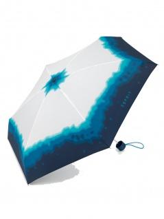 Esprit 50748 Petito Colour Dip blue atoll Taschenschirm - Vorschau 1
