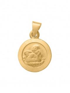 Basic Gold EN05 Kinder Anhänger Schutzengel 14 Karat (585) Gelbgold
