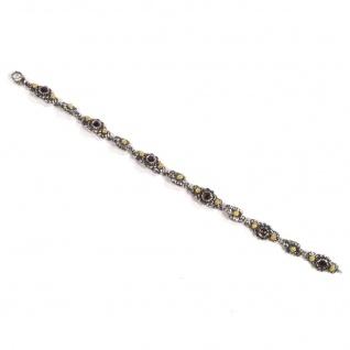 Tom Hill 41.9020 Armband Silber Granat rot 19 cm