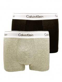 Calvin Klein Herren Unterwäsche Boxershort 2er Pack Trunk S Mehrfarbig