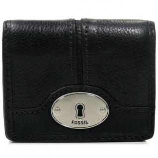 Fossil Kreditkartenetui MADDOX Schwarz SL3030-001 Kreditkarten Etui - Vorschau 1