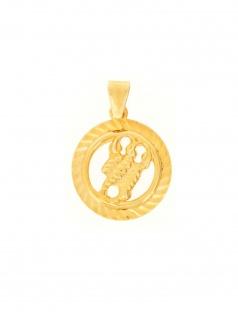 Gerry Eder 24.9021SK Anhänger Skorpion 14 Karat (585) Gelbgold Gold