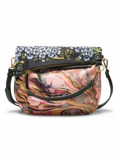 Desigual Handtasche Tasche Schultertasche FOLDED PARADISO Mehrfarbig