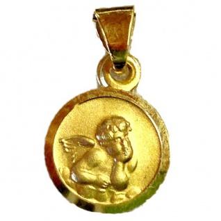 Basic Gold EN04 Kinder Anhänger Schutzengel 14 Karat (585) Gelbgold
