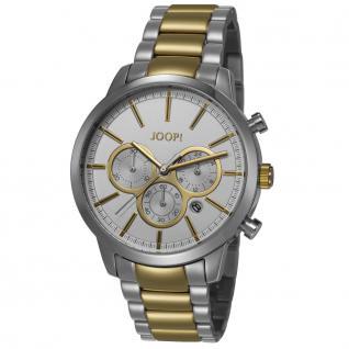 Joop JP101522002 101522 silver gold Uhr Damenuhr Chrono Datum gold