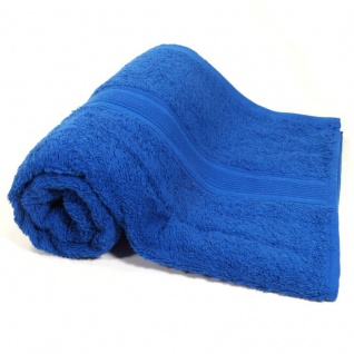 Duschtuch Royalblau Frottee Baumwolle 500g/m2 Handtuch 70 x 140 cm