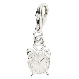 Basic Silber 22.VX105 Damen Charms Wecker Silber