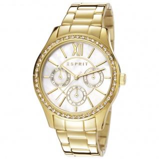Esprit ES107782002 paige multi gold Uhr Damenuhr vergoldet Datum gold