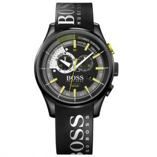 Hugo Boss 1513337 Yachting Timer Chrono Uhr Herrenuhr schwarz