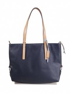 Esprit Damen Handtasche Tasche Shopper Cheryl Shopper Blau